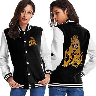 Women's Baseball Uniform Splatoon 2 Jacket Sport Coat Plus Velvet for Men Sweater Coat