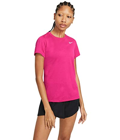 Nike Dry Legend Tee Crew (Fireberry) Women