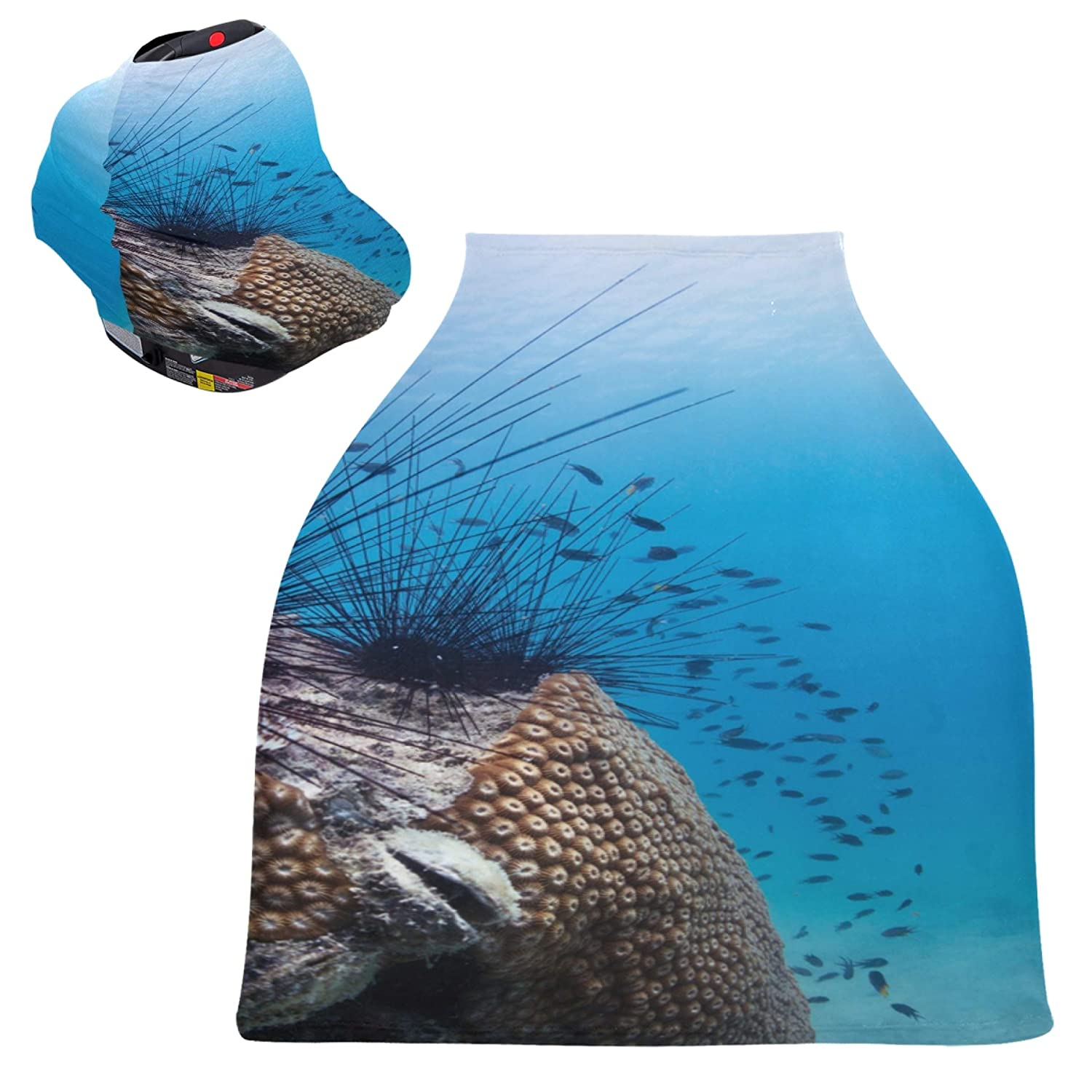 Baby Seat Cover for Shopping Carts Covered Don't miss the campaign with Urchin Topics on TV Sea Thorn