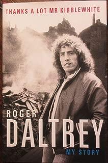 roger daltrey signed book