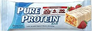 Pure Protein Strawberry Greek Yogurt, 6 Bars, Total Weight 10.58 oz