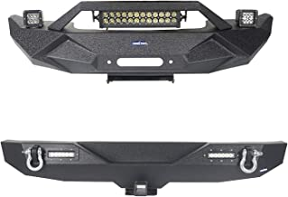 08 jeep wrangler bumpers