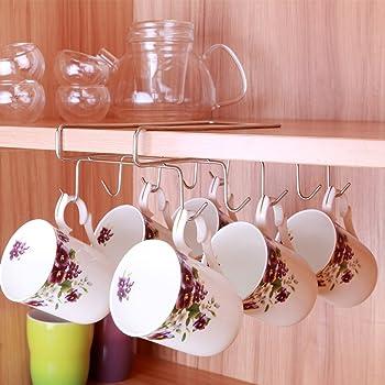 Popular Kitchen Storage Rack Cupboard Hanging Coffee Cup