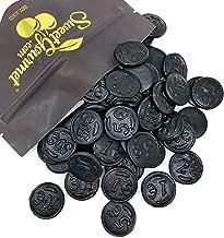 Gustaf's Premium Dutch Licorice | Salted Licorice Coins | Bulk Candy | 1 pound (453g)