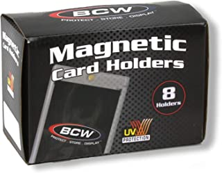 Box of 8 BCW Magnetic Card Holders - 360 Pt.
