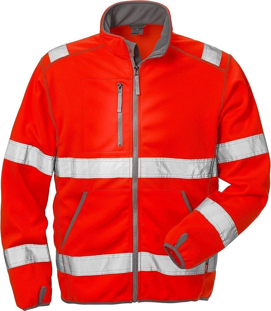 Fristads Kansas Workwear 101006 High Vis Softshell Work Jacket