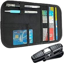 con tasca interna Sunglass portapenne comando combustibile di cambiamento Storage 30/x 14/cm MRCARTOOL auto parasole organizer