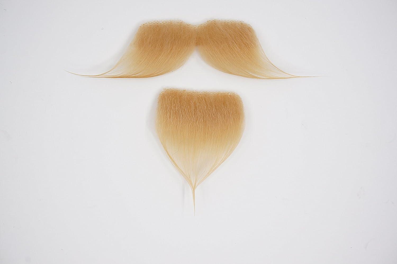 Blanche Couleur Novelty Colonel Seters Fausse Hetlebar avec a Goatee Mustaches Auto-Adh/ésives