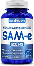 NASA BEAHAVA Pure SAM-e 500mg 90 Capsules (S-Adenosyl Methionine) Supports Joint Health and Brain Function