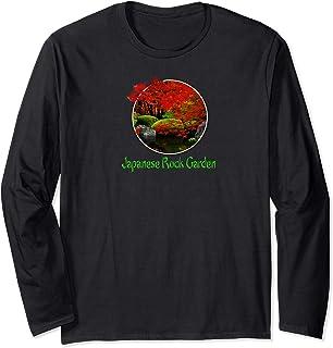 Japanese Art Rock Garden Long T-Shirt