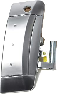 Replacement Driver Side Door Handle - Replaces 80607-CD41E, 80607-CD40E - Fits 2003, 2004, 2005, 2006, 2007, 2008, 2009 Nissan 350Z - Exterior Door with Key Hole - Models 03, 04, 05, 06, 07, 08, 09