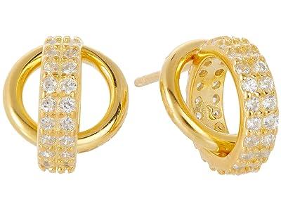 SHASHI Promises Earrings (Gold) Earring