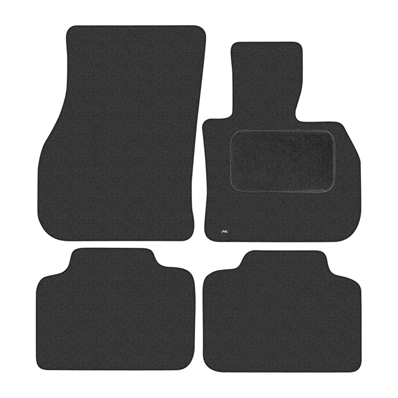 JVL 4065 Fully Tailored Carpet Car Mat Set for Countryman F60 2017-On, Black