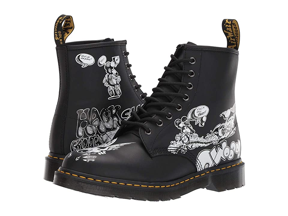 Dr. Martens 1460 Rick Griffin Collab (Black/White) Boots