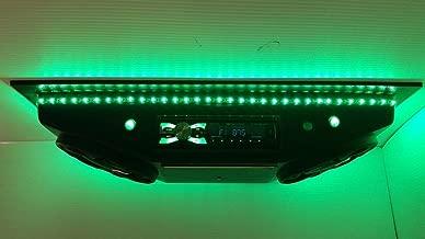 Golf cart Radio UTV Stereo Universal Overhead Console with Bluetooth