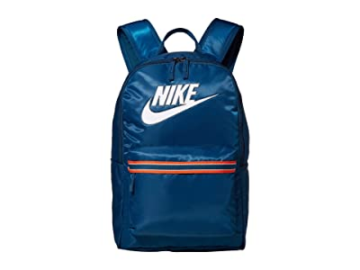 Nike Heritage Backpack Jersey CLTR (Blue Force/Blue Force/White) Backpack Bags