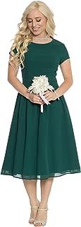 Lucy Modest Chiffon Dress, Modest Bridesmaid Dress or Modest Prom Dress