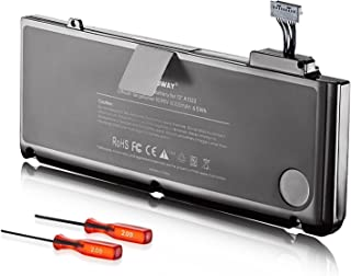 E EGOWAY Laptop Battery (10.95V 6000mAh) Replacement for MacBook Pro 13 Inch A1322 A1278