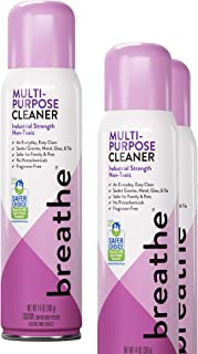 Breathe Industrial Multi-Purpose Cleaner for an Everyday, Easy Clean - Can be Used on Sealed Granite, Metal, Glass, and Tile - EPA Safer Choice Product - 14 oz - 3 Pack
