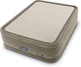 Intex PremAire ThermaLux Air Mattress with Digital Comfort Internal Pump, Queen, 20in Bed Height