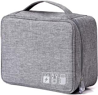 COAFIT Electronics Organizer Portable Cable Organizer Bag Travel Gadget Bag