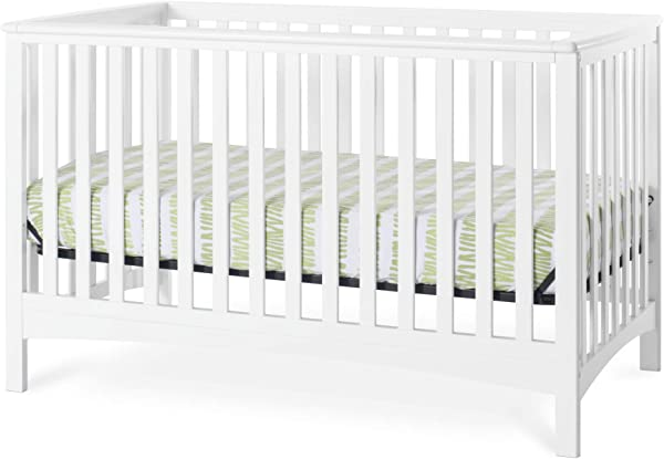 Forever Eclectic London 4 In 1 Convertible Crib Matte White
