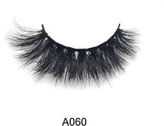 Real 3D Mink Eyelashes Strip Lashes - A060