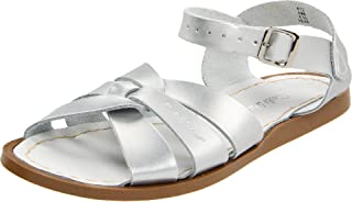 Salt Water Girls' Original Fashion Sandals, Silver (Silver), 3 AU / 3 M US Toddler