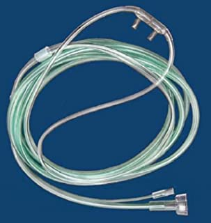 McKesson 16-0441 Co2 Sampling Nasal Cannula, Pediatric, O2/Co2 Sampling Line with Male Luer, 2