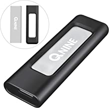 QNINE 256Gb Extreme Portable SSD (1.1 oz Weight), USB C SSD External Hard Drive - USB 3.1 High Speed External SSD for MacBook Pro, Xbox One X, etc