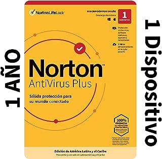 Norton Antivirus Plus - Software Antivirus para 1 Dispositivo Compatible con Windows y MacOS con Copia de Seguridad de 2GB...