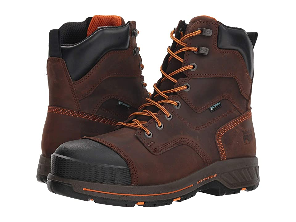 Timberland PRO Helix HD 8 EH Soft Toe WP (Red/Brown) Men