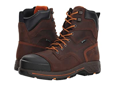 Timberland PRO Helix HD 8 Soft Toe Waterproof (Red/Brown) Men