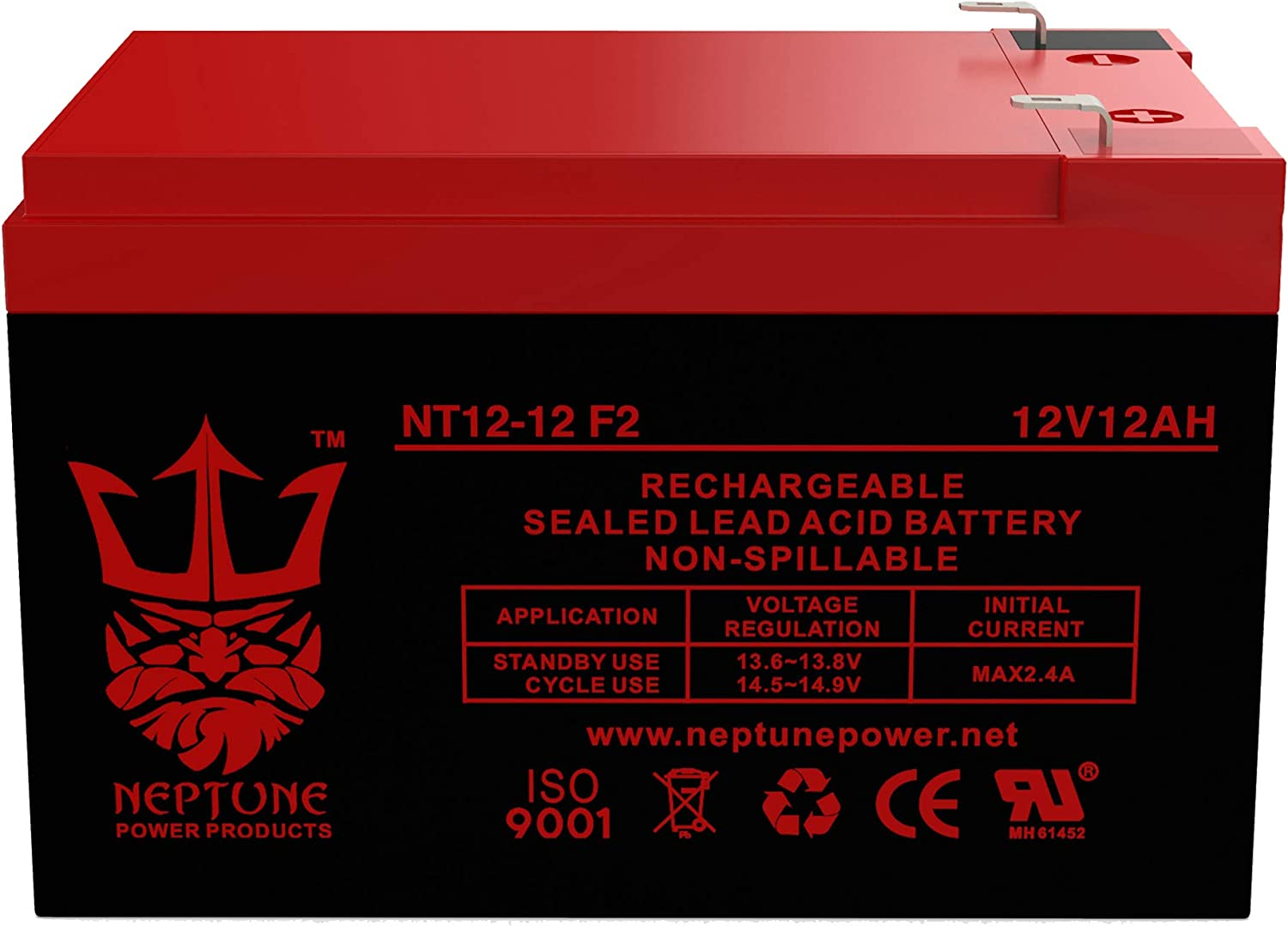 CSB HS-250 HS-290 12V 12Ah Replacement Electric Scooter Battery