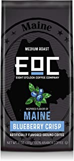 Eight O'Clock Coffee Flavors of America, Maine Blueberry Crisp, 11 Ounce
