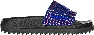 Versus Versace Women Slides Bluette+Fuchsia-Bluette