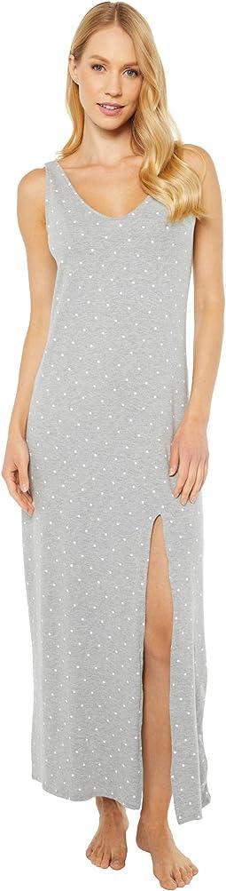 Medium Heather Grey Dot