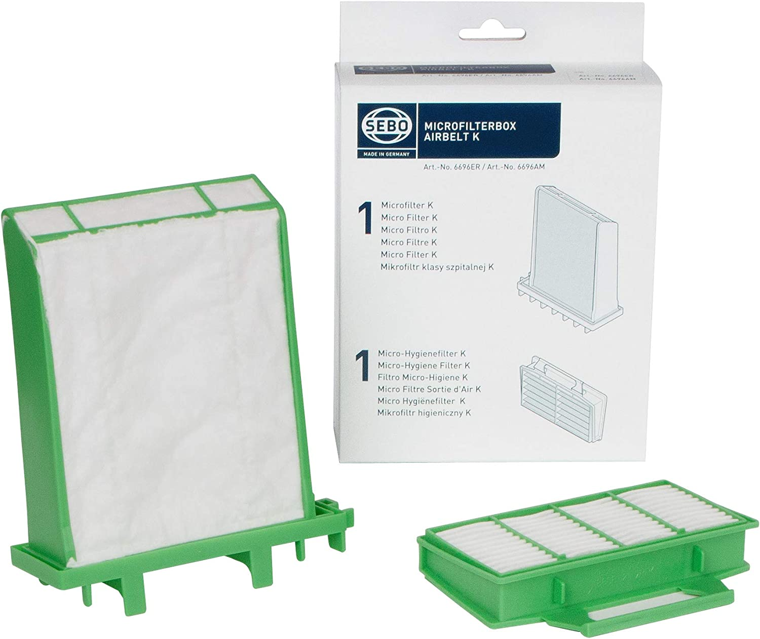 Sebo K Series Our shop OFFers the best service Filter safety Vacuum Set