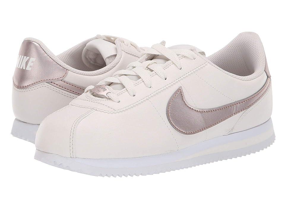 Nike Kids Cortez Basic SL (Big Kid) (Phantom/Metallic Red Bronze/White) Girls Shoes