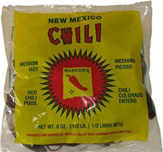 ArtMuseKitsMikash Barker's Medium Spicy Dried Red Chili Pods from Hatch, New Mexico (8 oz.)