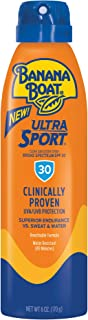 Banana Boat Ultra Sport Sunscreen Spray, New Formula, SPF 30, 6 Ounces