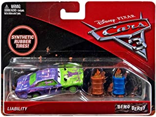 Disney/Pixar Cars 3 Demo Derby Liability with Synthetic Tires Die-Cast Vehicle