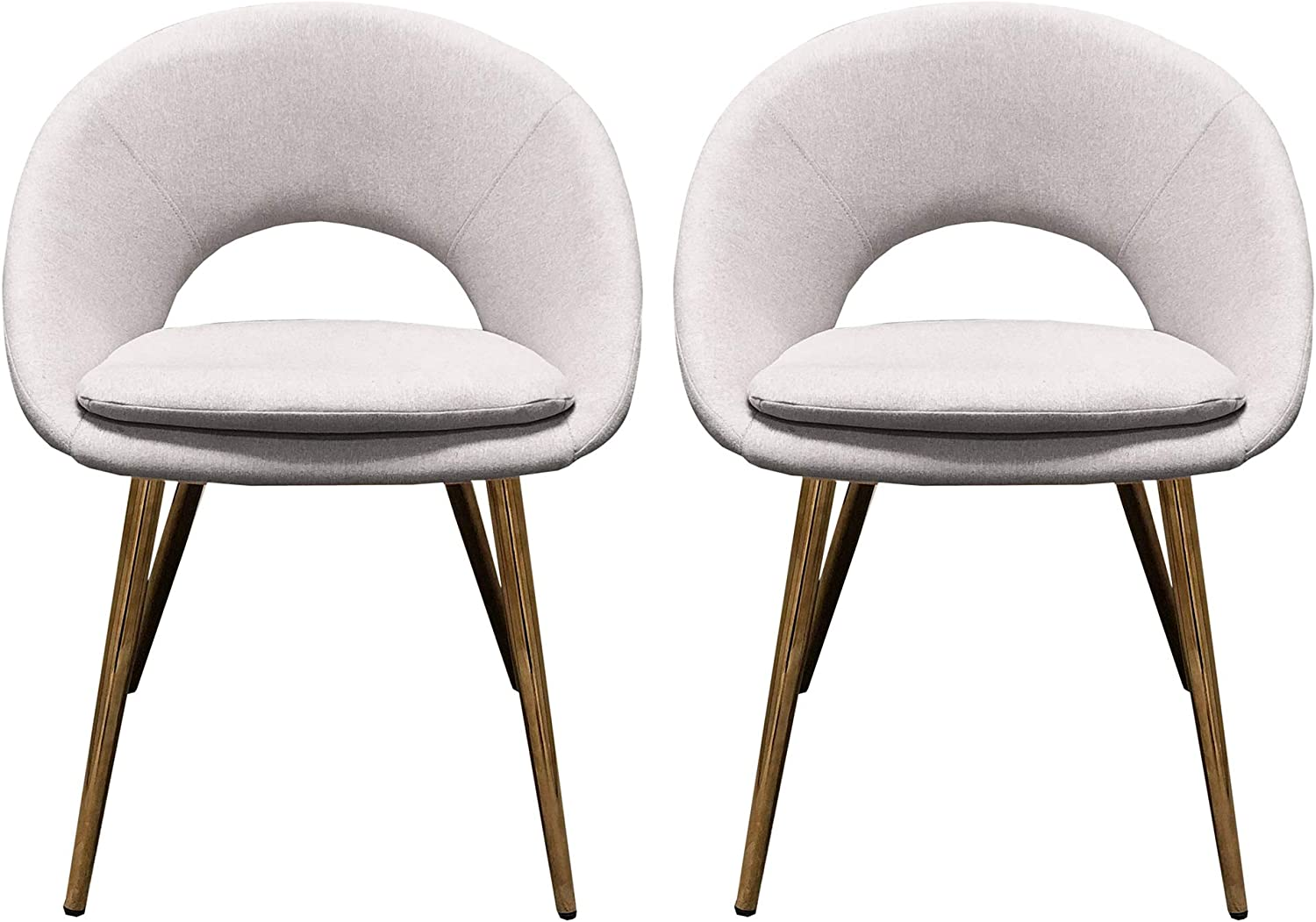 Design Guild Fabric Don't miss the campaign 2 Piece Set Lowest price challenge Chairs Sof Upholstered Armless w