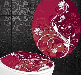 Asiento Pegatinas Zen Piedras Dise/ño Pantalla inodoro para inodoro WC incl 2/adhesivo para azulejos