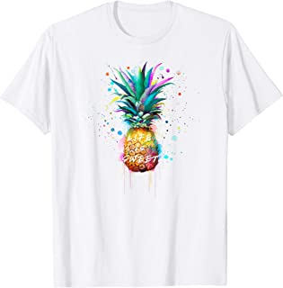 Life is Sweet Good Vibes Pineapple T-Shirt
