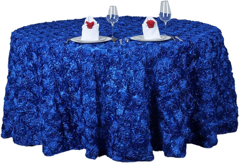 ZZFF Satin 贈呈 Round 定番の人気シリーズPOINT ポイント 入荷 Tablecloth Rai 3D Rectangular Floral
