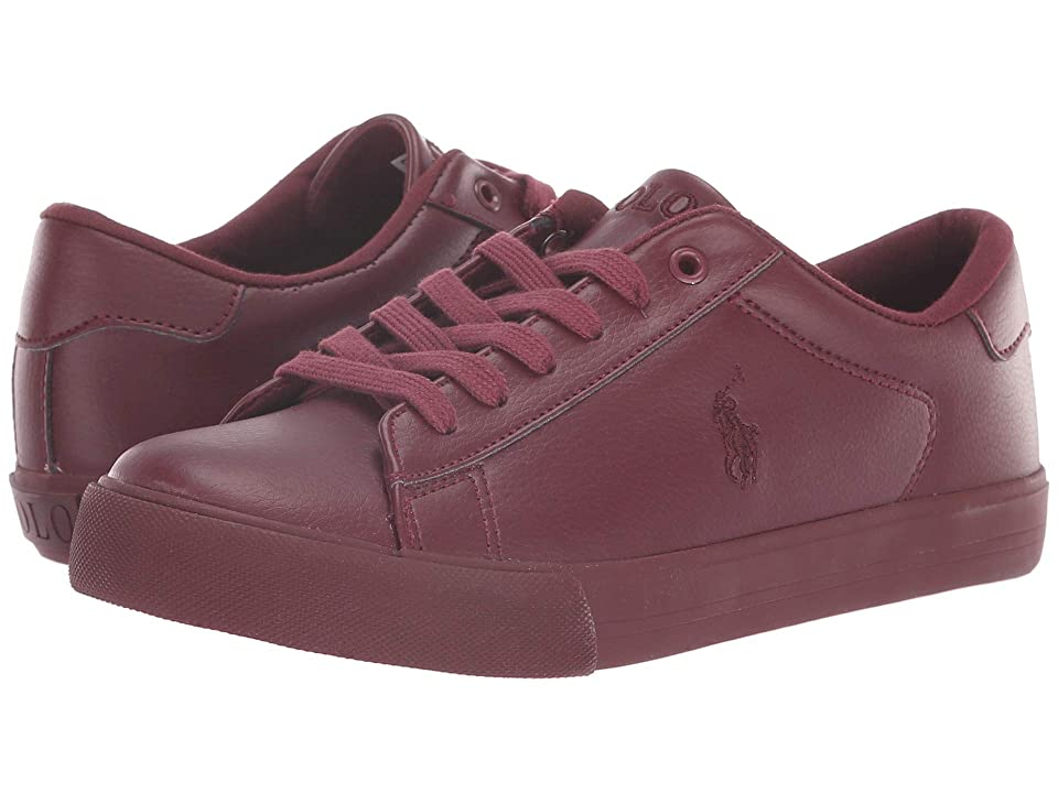 Polo Ralph Lauren Kids Easten (Big Kid) (Triple Burgundy Tumbled) Kid