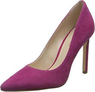 Womens Tatiana Leather Pointed Toe Classic Pumps, Pink Suede, Size 5.5
