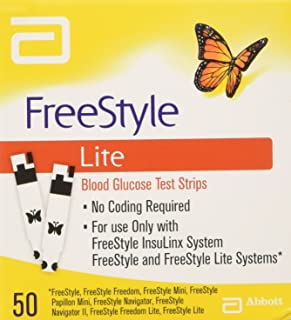 Freestyle Lite Testing Strips