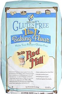 Bob's Red Mill Gluten Free 1-to-1 Baking Flour - 25 lb - Bulk Bag